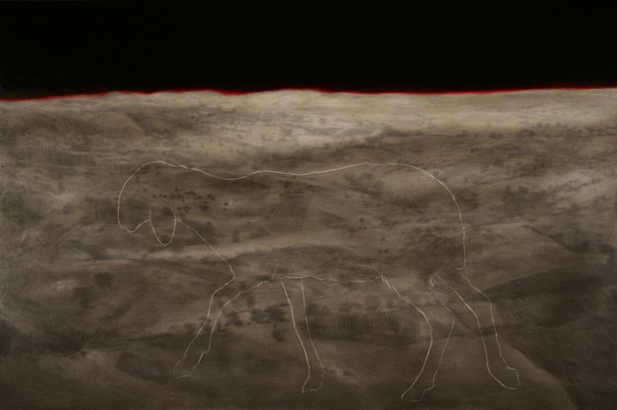 2013, 100 x 150 cm, olio su tela