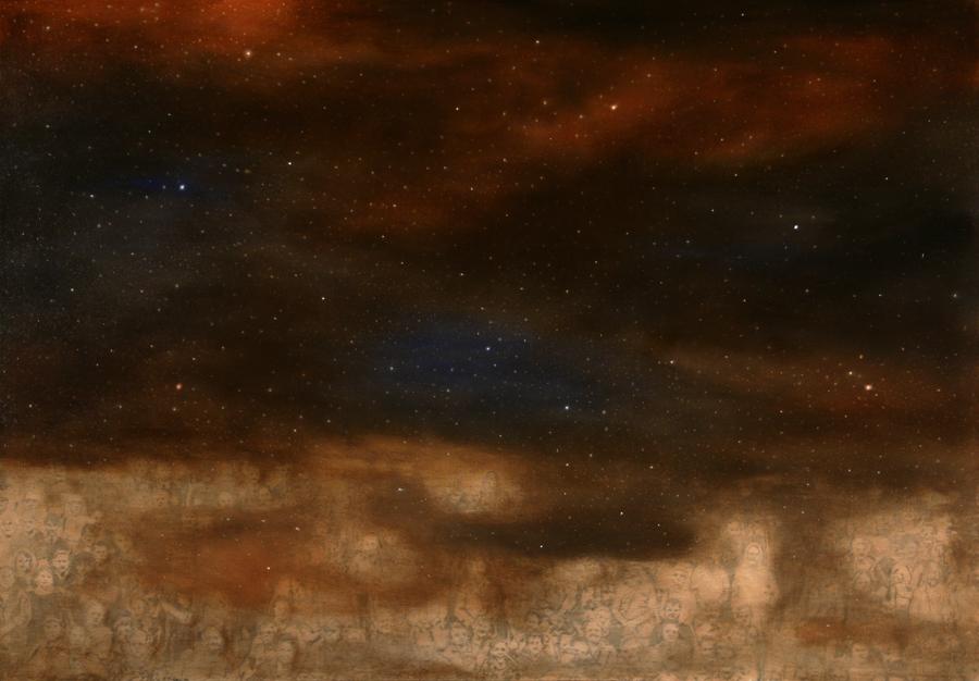 2013, 90 x 130 cm, olio su tela