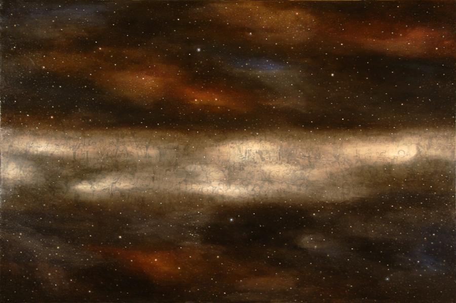 Anawim, 100 x 150 cm, olio su tela