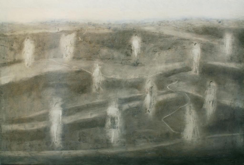 Resurrectio mortuorum, 1997, 100 x 150 cm, olio su tela