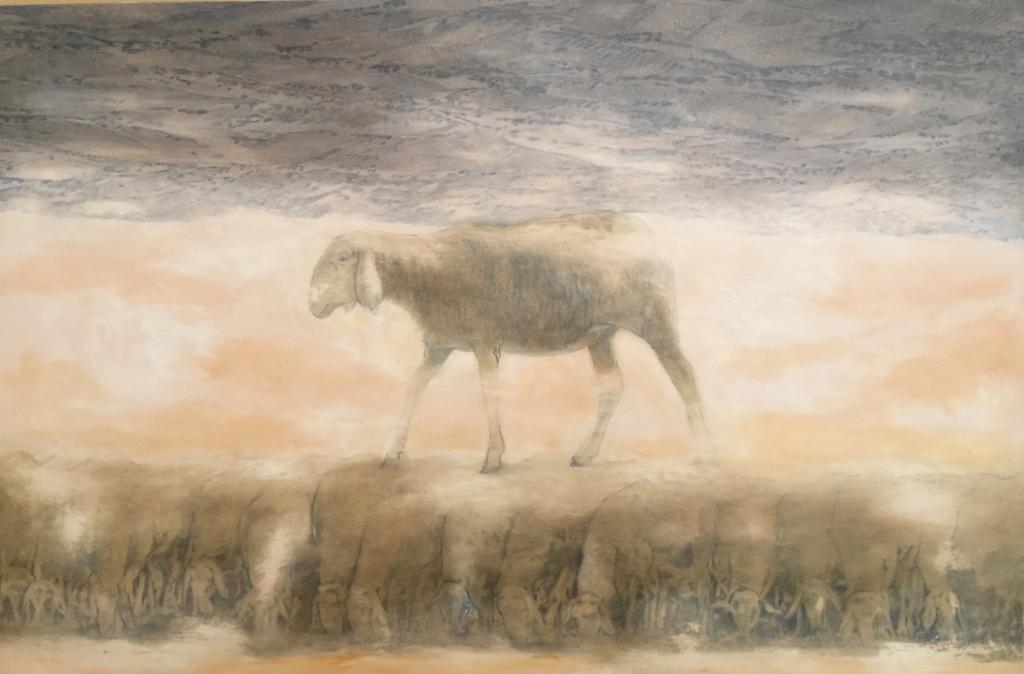 2015, 100 x 150 cm, olio su tela