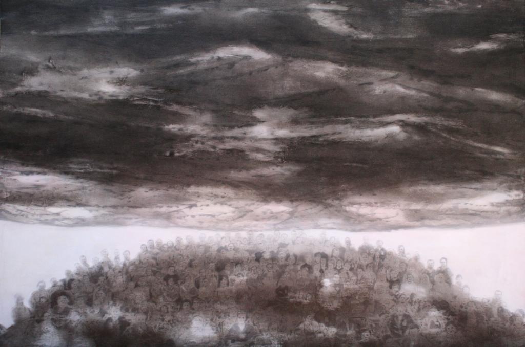 2013, 130 x 180 cm, olio su tela