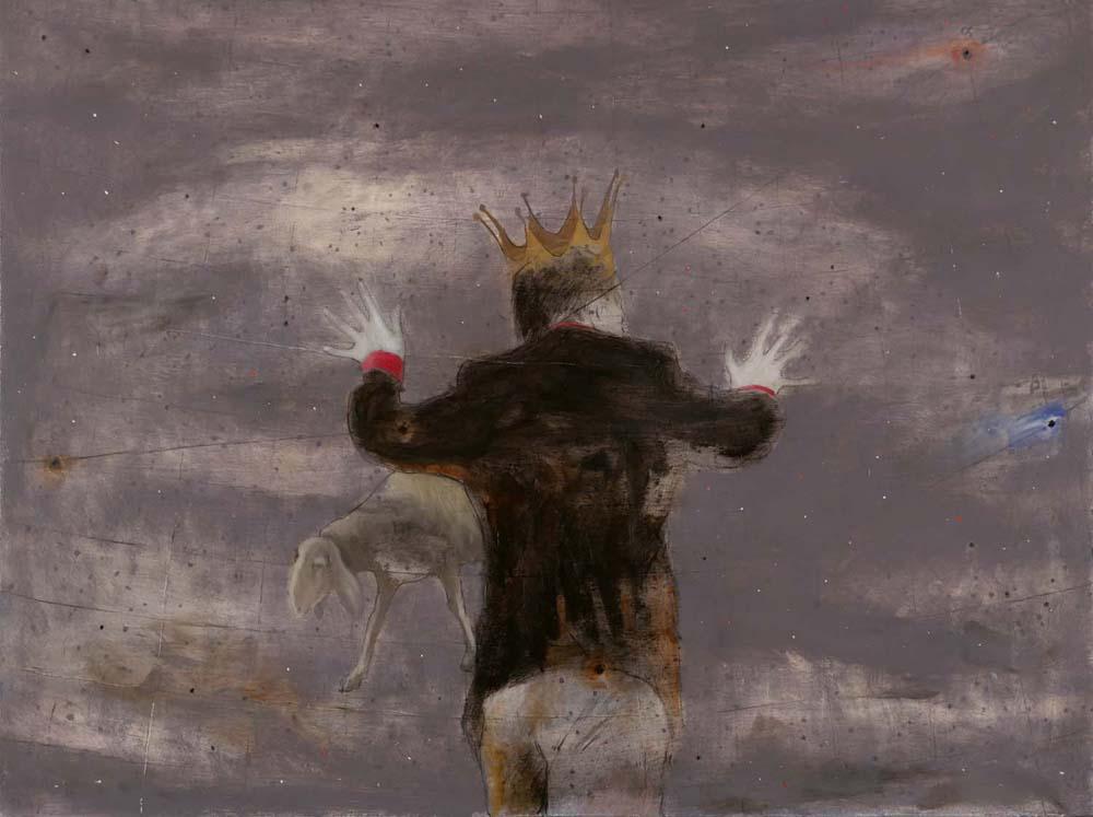 Katéchon 7, 2015, 60x80 cm, olio su tela
