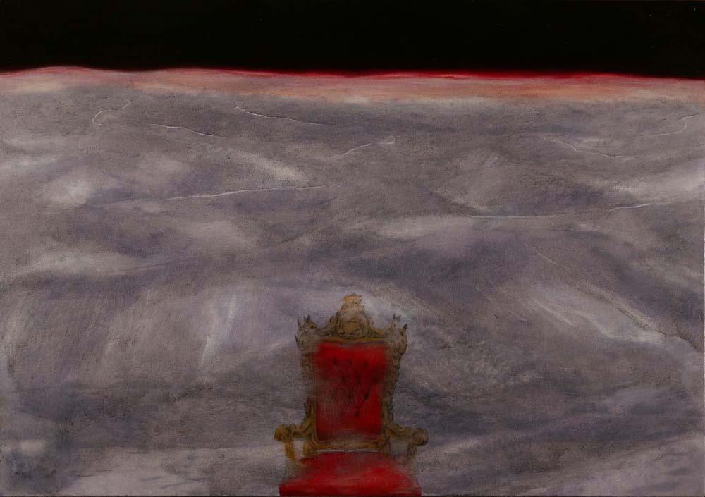 Etimasia, 2015, 70x100 cm, olio su tela